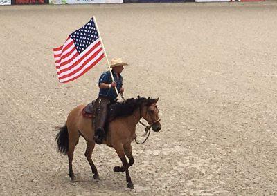 Martin Schmitz & Kiger Mustang Montana bei der Eröffnung