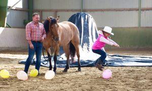 Montana und Ballons