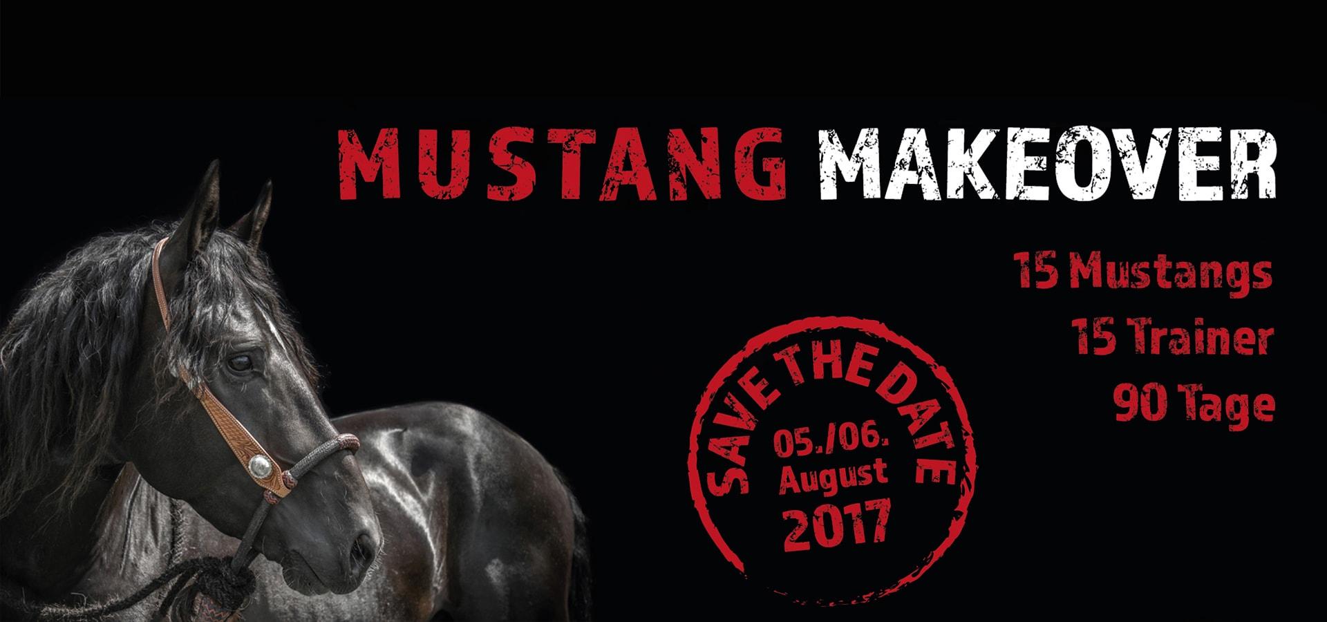 Mustang Makeover Deutschland 2017 Titel